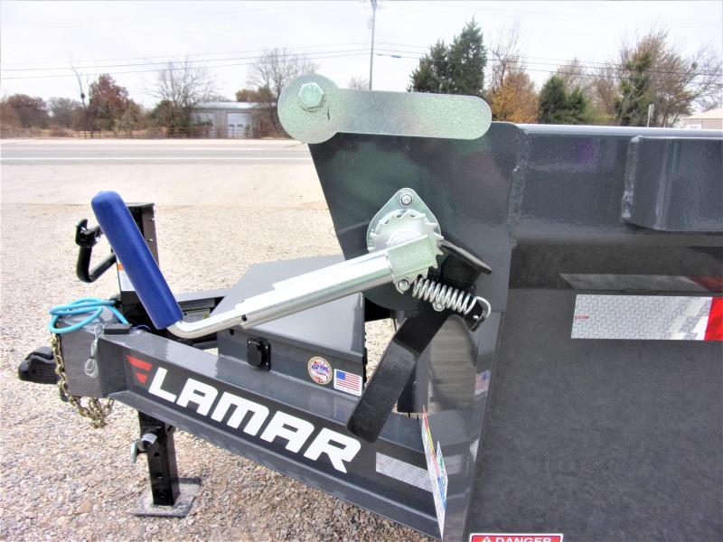 2020 Lamar Trailers 83 x 12' Low Pro Dump Trailer GVWR 14K