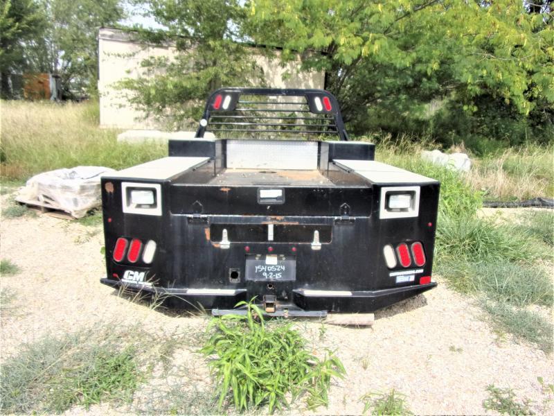 2015 CM TM Deluxe Tradesman Model Truck Bed