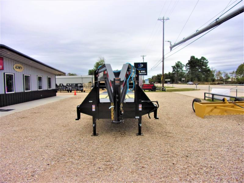 "2019 Lamar Trailers 102"" x 34' XD Gooseneck Deck Over Hydraulic Tail GVWR 20K"
