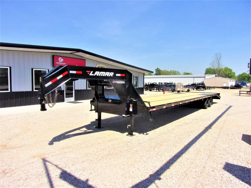 2019 Lamar 102 X 40 Gooseneck Low Pro XD Deck Over GVWR 24K