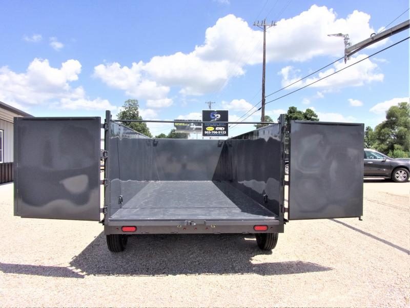 2019 Lamar Trailers 83 x 16 Low Pro Gooseneck Dump Trailer GVWR 21K