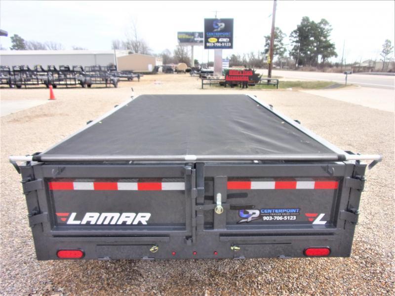 "2020 Lamar Trailers 77"" x 12' Low Pro Dump GVWR 10K"