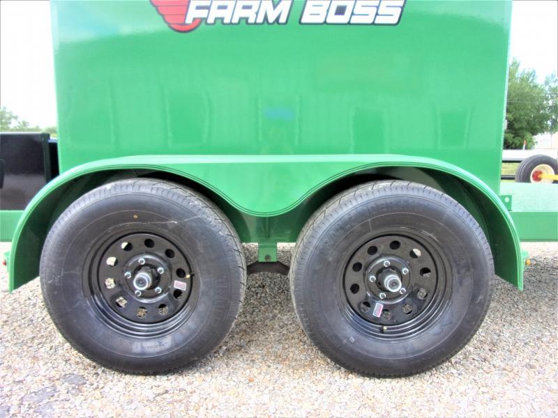 2019 Farm Boss FB590 Tank Trailer 590 Gal GVWR 7K