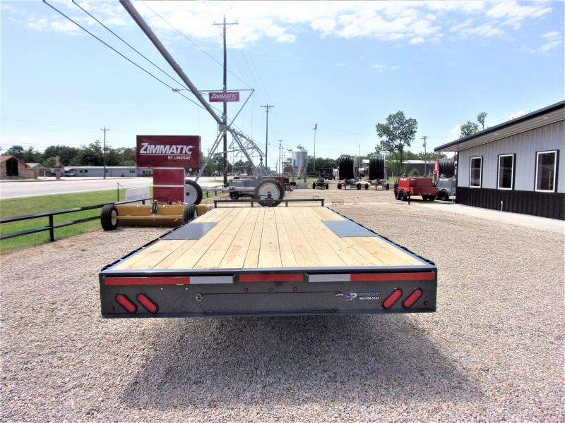 2020 Lamar Trailers 102 X 20 BP Deck-Over Flatbed GVWR 14K