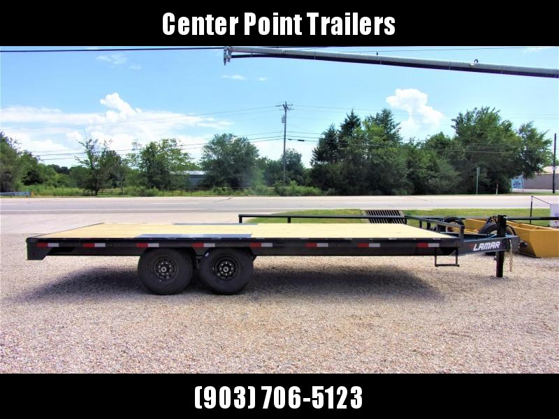 2019 Lamar Trailers 102 X 20 BP Deck-Over Flatbed GVWR 14K