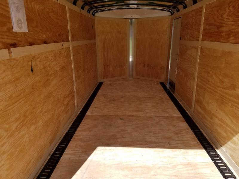7 x 16 Homesteader Challenger V-Nose Cargo Trailer 7k