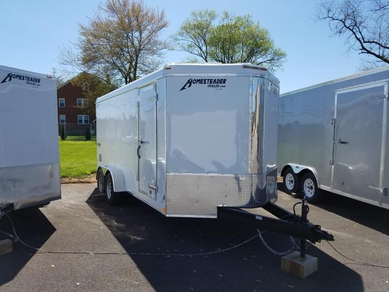 7 x 16 Homesteader Challenger V-Nose Cargo Trailer 7k in Ashburn, VA