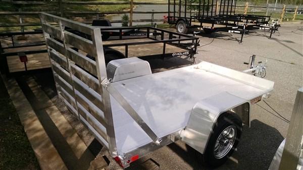 "Aluma 548 (4'6"" x 8) 2k Aluminum Utility Trailer"