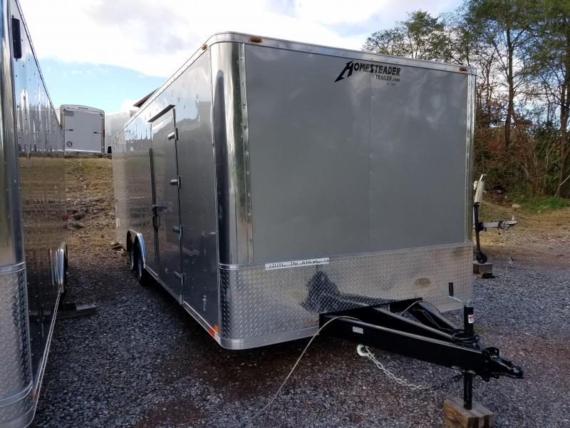 8.5 x 24 Homesteader Champion SGT 10k Enclosed Car Hauler