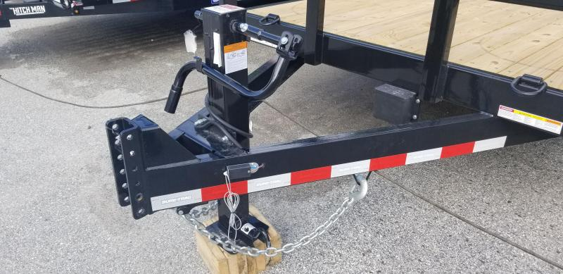 Sure-Trac 7 x 18 Heavy Duty Equipment Trailer 14k