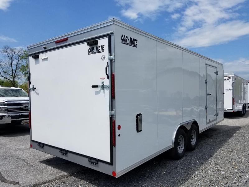 8.5 x 22 Car Mate Super Duty Landscape Cargo Trailer 10K