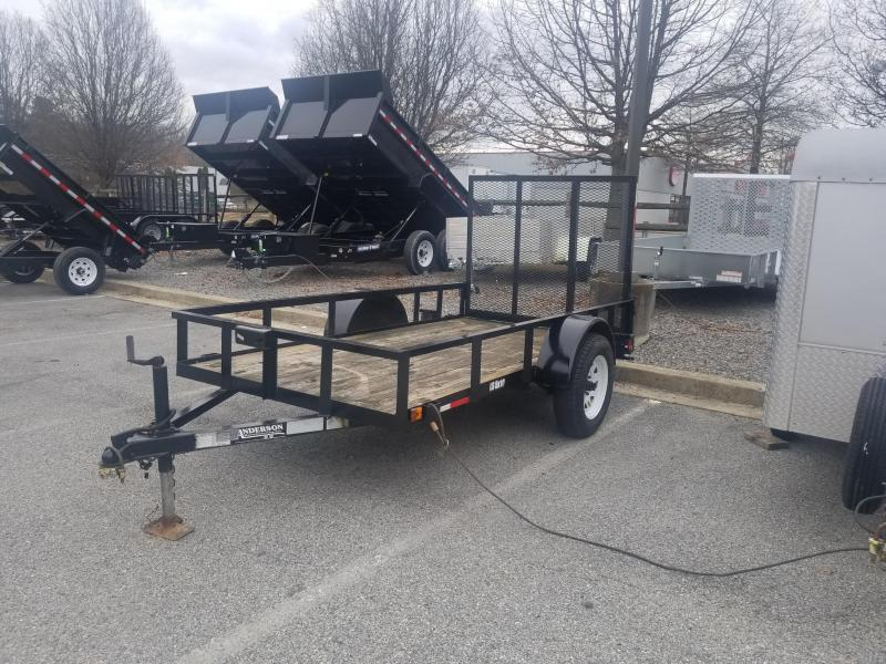 Used 5 x 10 Anderson Landscape Trailer 3k