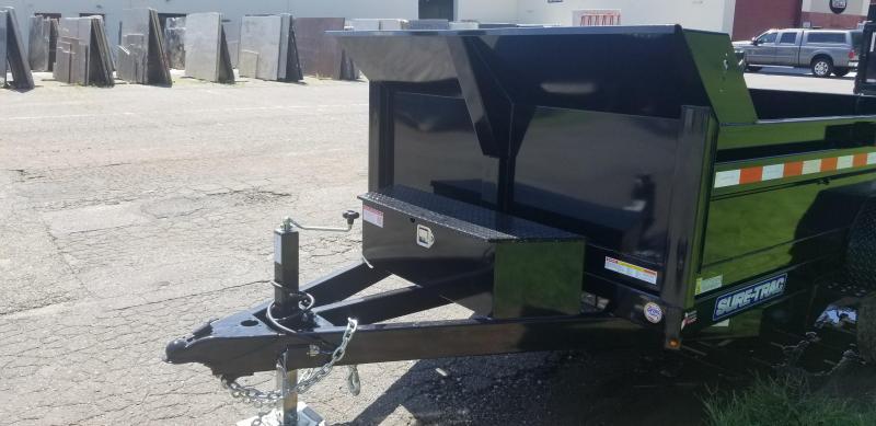 72 in x 12 Sure-Trac LProfile Single Ram Dump 10k