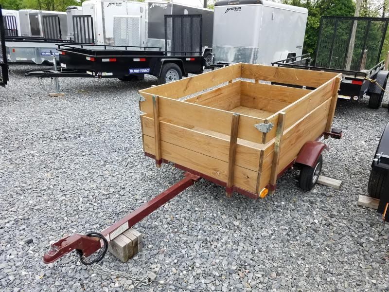 Used 4 x 6 King TILT Utility Trailer 2k