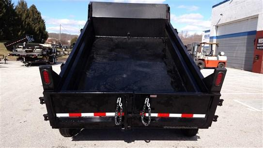 6 x 10 Sure-Trac 7k Low-Profile Dump Trailer