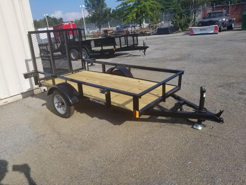 Trailers And Hitches >> 4 X 8 Holmes Residential 2k Utility Trailer The Hitch Man Trailers