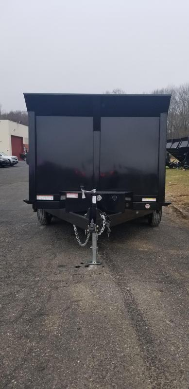 82 IN X 12 Sure-Trac LProfile **4' High Sides Dual Ram Dump 12K