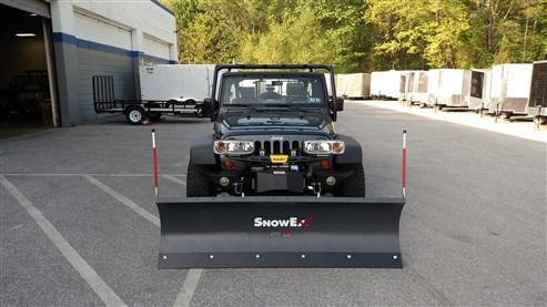 SnowEx Light Duty (LT) Plow