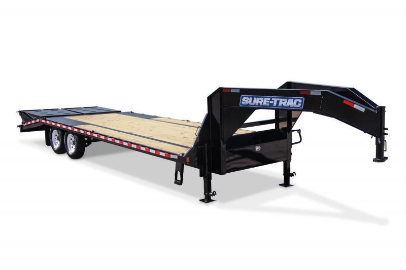 8.5 x 25 Sure Trac HD Deckover Equipment Trailer 15k