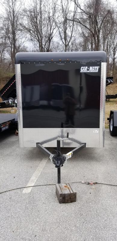 6 x 12 Car-Mate Sportster Black Ramp 3k