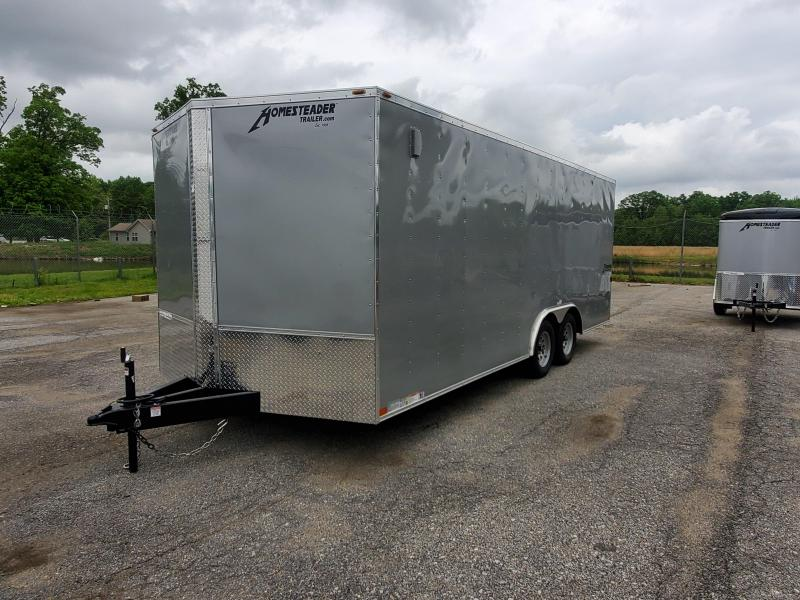 8.5 x 20 Homesteader Intrepid V-Nose Cargo Trailer 7k