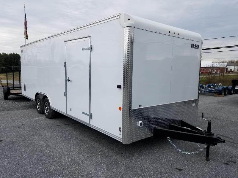 8.5 x 24 Car Mate Eagle Enclosed Car Trailer 10K in Ashburn, VA