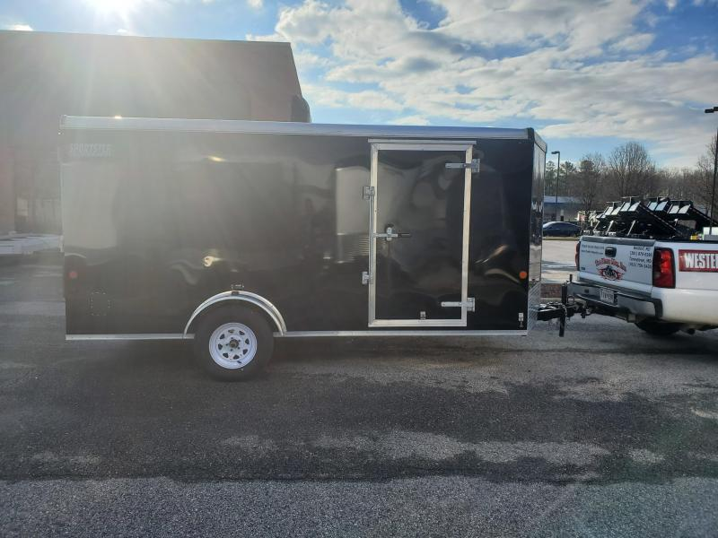 7 X 14 Car Mate Liberty Sport V-Nose Enclosed Cargo Trailer 3k
