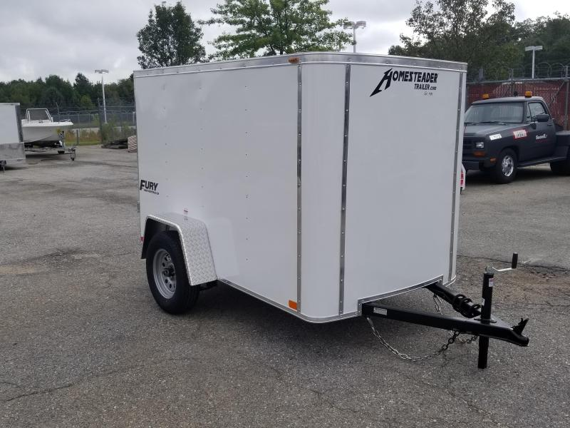 Homesteader 5 x 8 Fury Enclosed Cargo Trailer 3k
