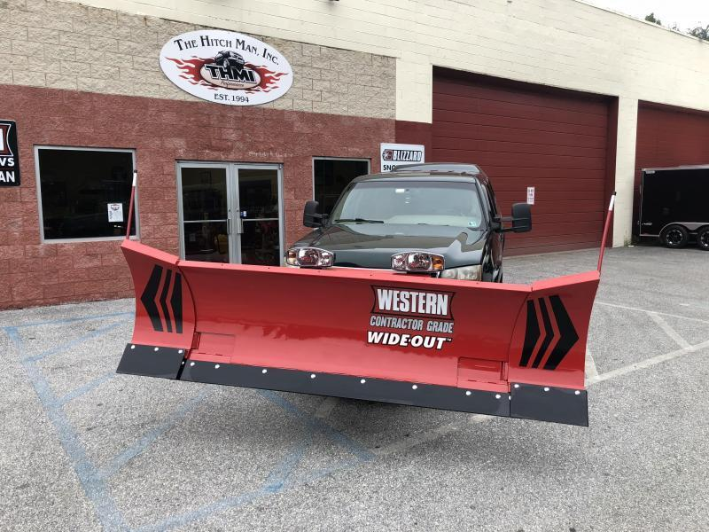 Western WIDE-OUT GEN 2 8'-10' Snow Plow