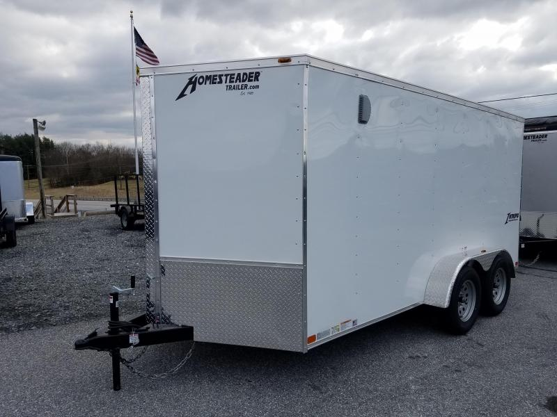7 x 14 Homesteader Intrepid V-Nose Cargo 7k