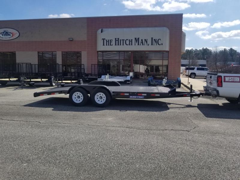 7 x 18 Sure Trac Steel Deck Car Hauler 10k in Ashburn, VA