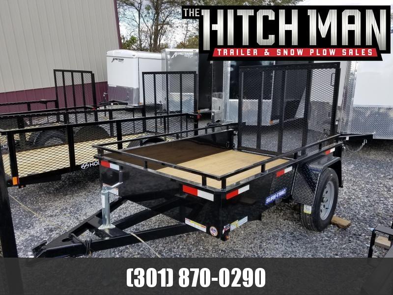 5 x 8 Sure-Trac Steel High Side 3k Utility