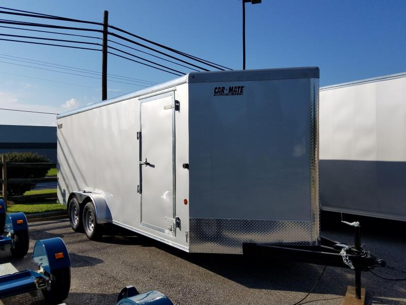 7 x 18 Car Mate Advantage V-Nose Cargo Trailer 7k