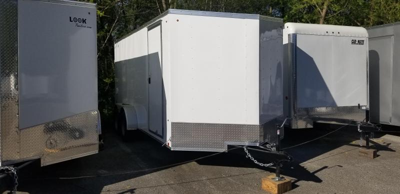 2019 Look Trailers 7X16 ST V-NOSE Enclosed Cargo Trailer