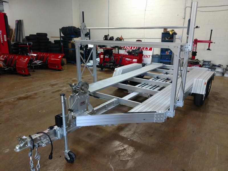 8in x 15 Trailex Aluminum Car Hauler 5k