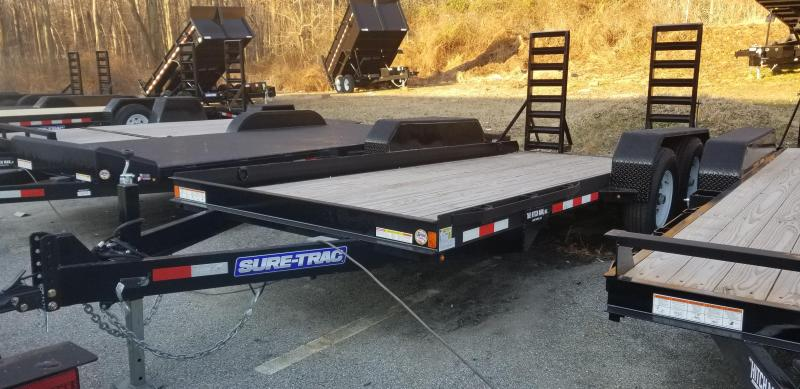 Sure-Trac 80 X 16 14K Skid Steer Equipment Trailer