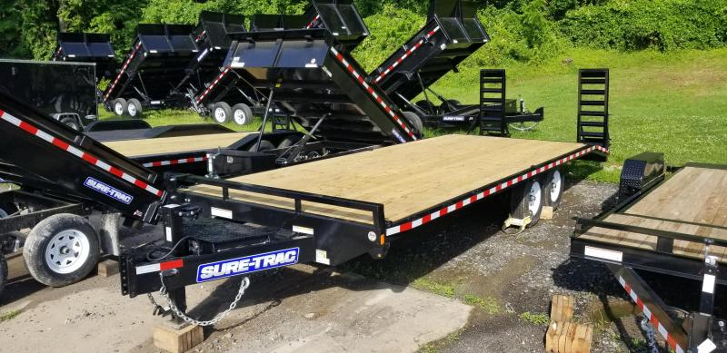 Sure-Trac 8.5 x 20 Ft +4 Beavertail Standard Duty 15k