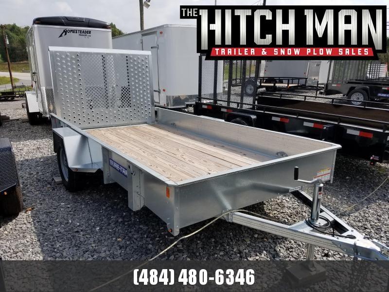 6 x 10 Sure-Trac Galvanized High Side 3k