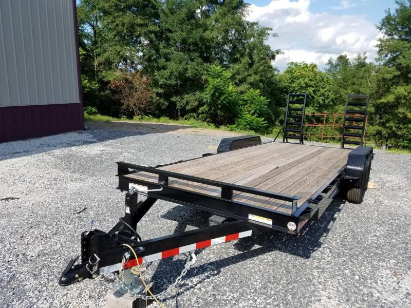 7 x 20 Sure-Trac Equipment Trailer 14k