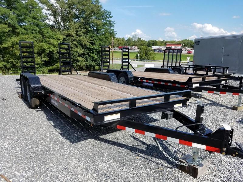 7 x 20 Sure-Trac Equipment Trailer 14k
