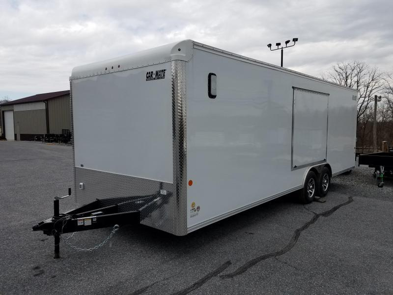 8.5 x 24 Car Mate Eagle Enclosed Car Trailer 10K in Ashburn, VA