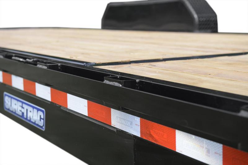 7 x 18 Sure-Trac Implement Equipment Trailer 10K