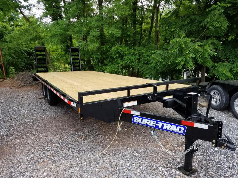 8.5 X 24 (20+4) Standard Duty Deckover Equipment Trailer 15K