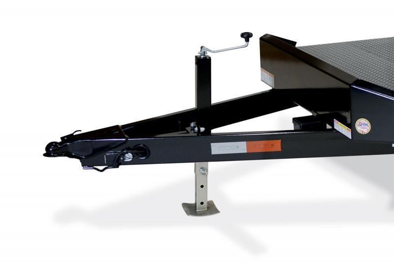 7 x 18 Sure Trac Steel Deck Car Hauler 10k