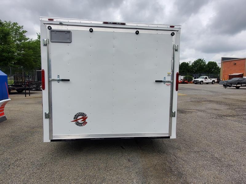 8.5 x 20 Homesteader Intrepid V-Nose Cargo Trailer 10k