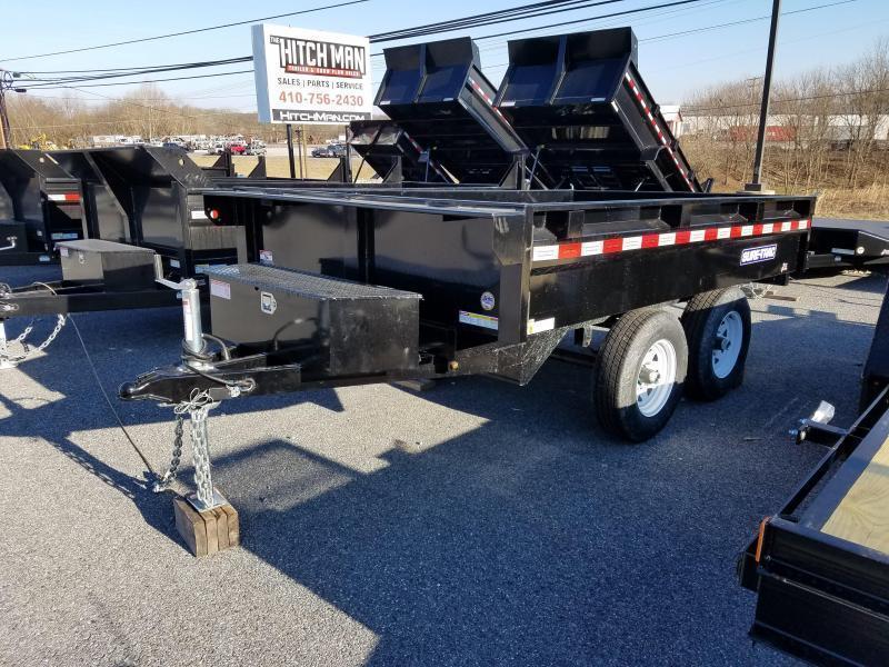 6 x 10 Sure-Trac Deckover Dump Trailer 7k