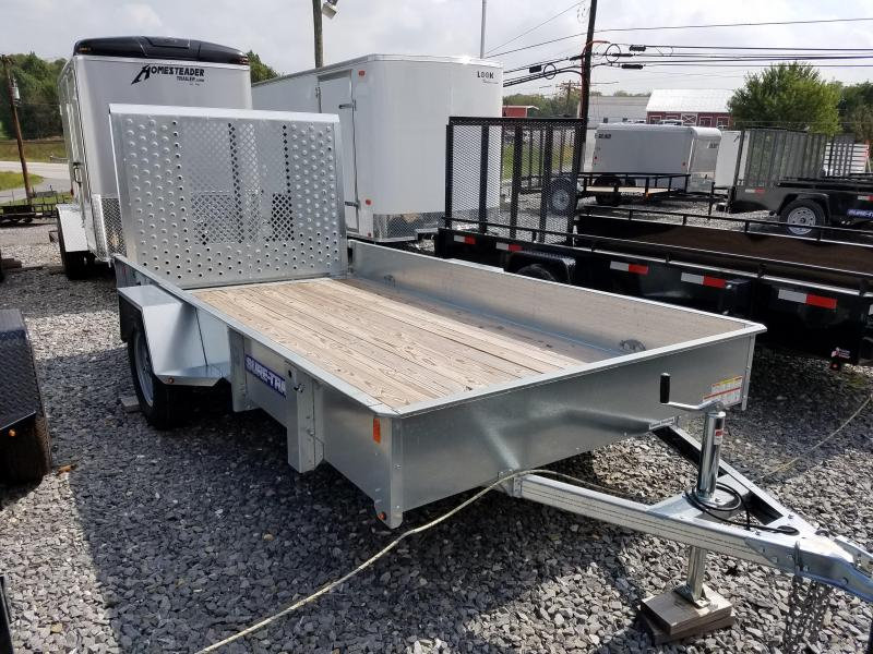 6 x 12 Sure-Trac Galvanized High Side Utility 3k