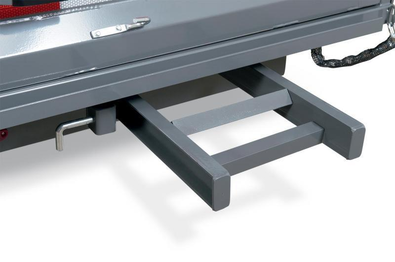 7 x 12 Sure-Trac STD Dual-Ram HD Dump Trailer 12k
