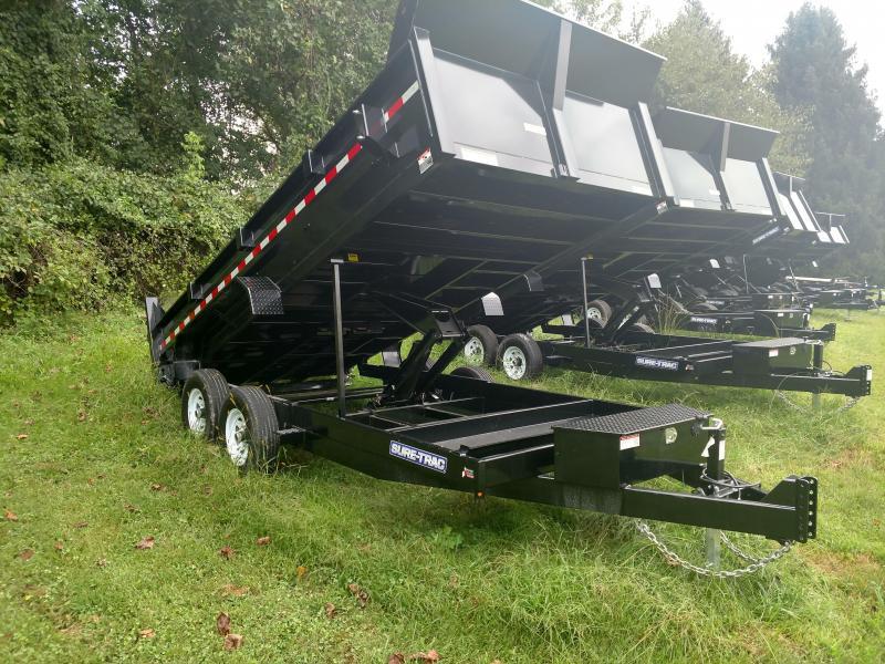 7 x 16 Sure-Trac 14k Scissor Dump Trailer