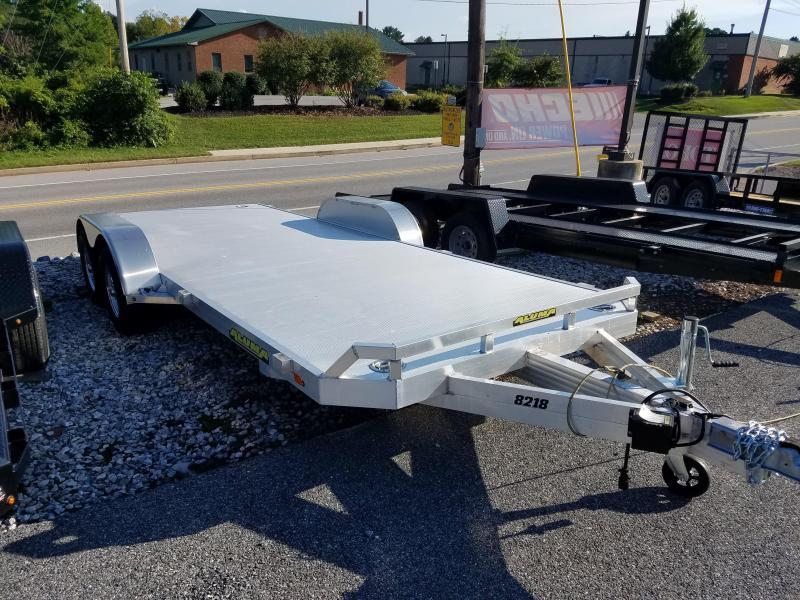 Aluma 7 x 18 Aluminum Car Trailer 7k